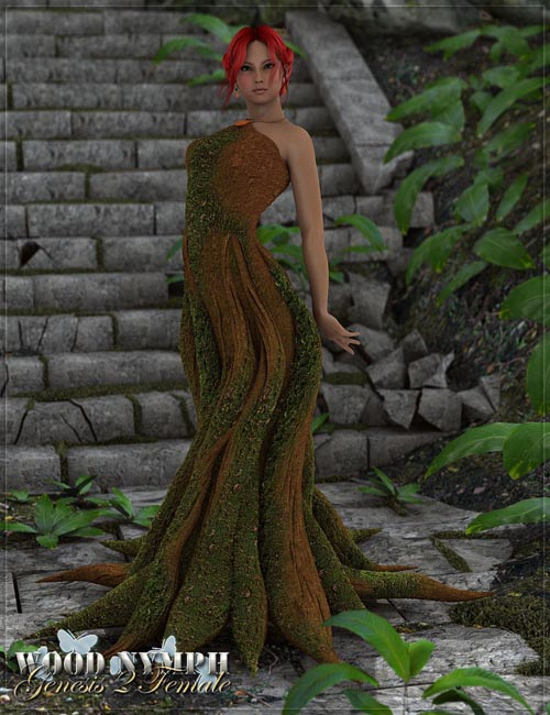 RW Wood Nymph for Genesis 2 Female(s)