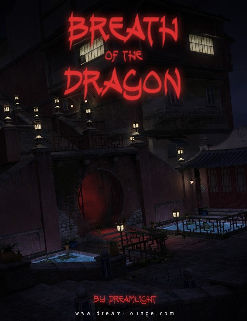 Breath Of The Dragon Streets Of Asia - DAZ Studio Light Set