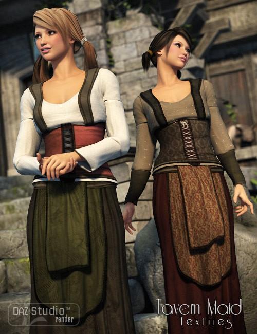 Genesis Tavern Maid Textures