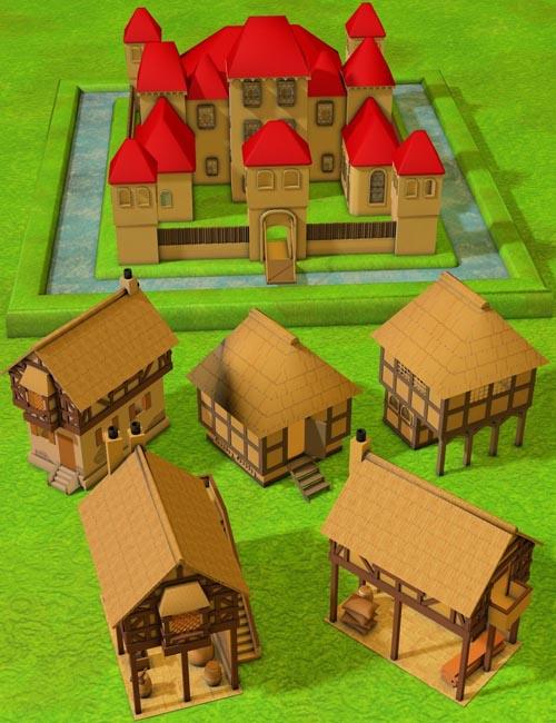 Medieval Town Bundle