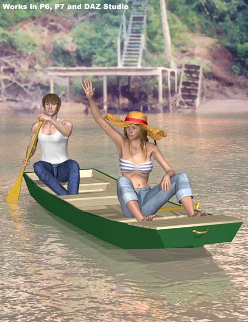 John Boat and Punt Set