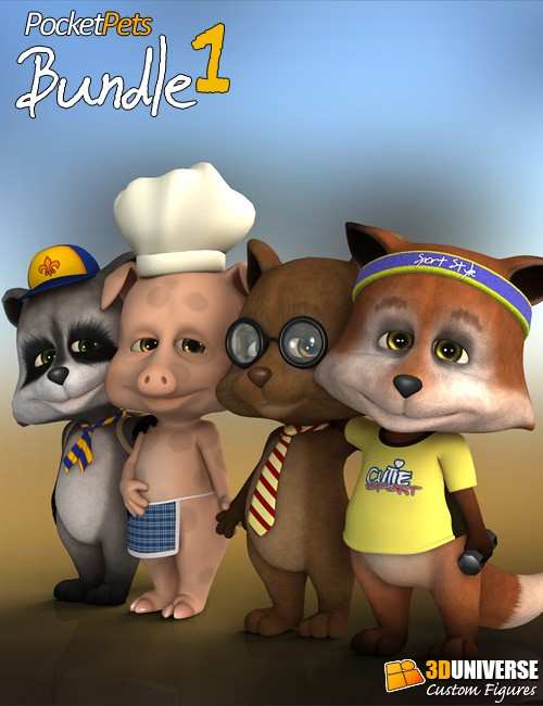 Pocket Pets Bundle 1