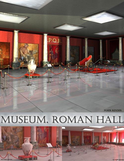 AJ Museum. Roman Hall