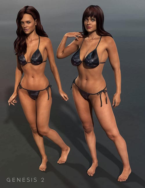 3DS Real Woman Stephanie 6 Bodies