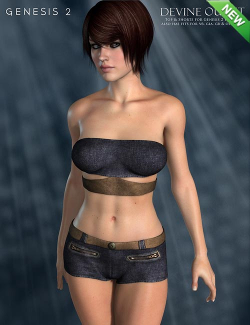 Devine Outfit for Genesis 2 Female(s)
