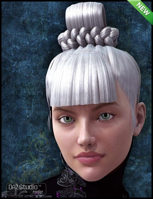 Ying Hua Hair for Genesis 2 Female(s)