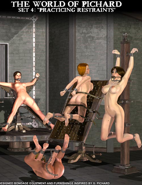 "Davo's World of Pichard: Set 4 ""Practicing Restraints"""