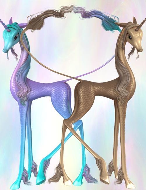 Fairytale Unicorn for DAZ Studio