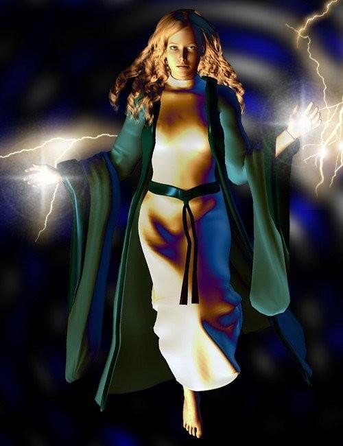 V4 Wizard Robe