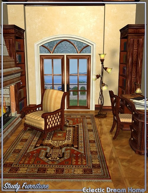 Daz D Dream Home Foyer And Living Room : Dream home breakfast nook furniture london � best daz d