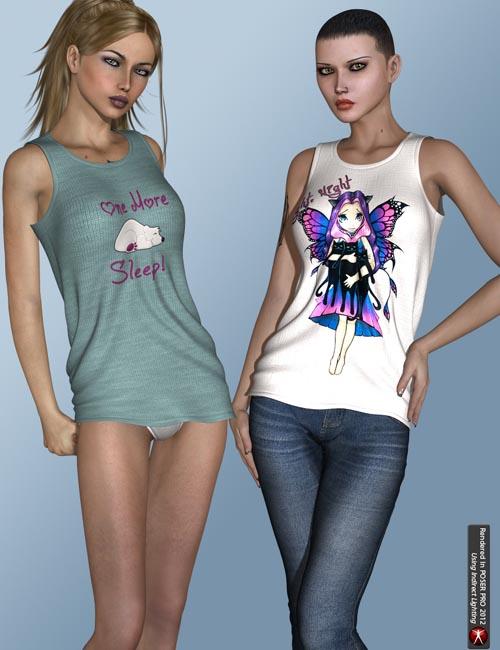 FWs Styles for Sexy Nightwear III by 3D-Age