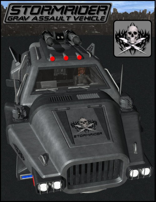 StormRider Grav Assault Vehicle