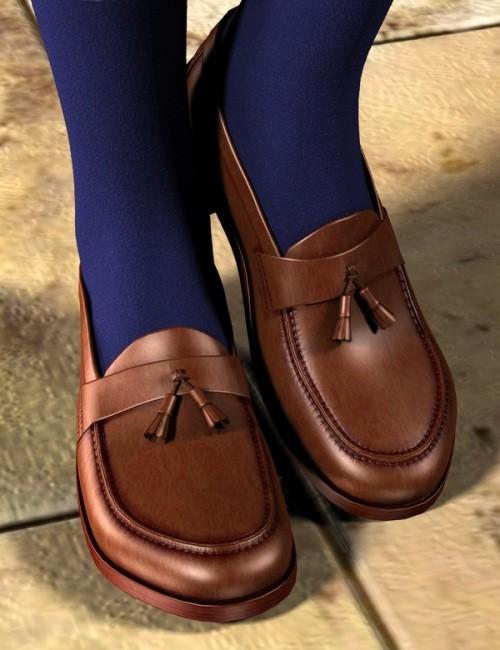 Tassel Loafers for Genesis