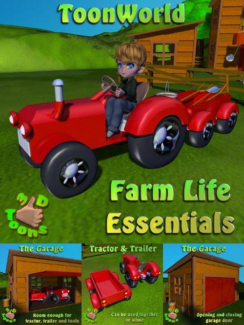 3DToons Farm Life Essentials
