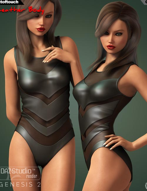 Leather Body for Genesis 2 Female(s)