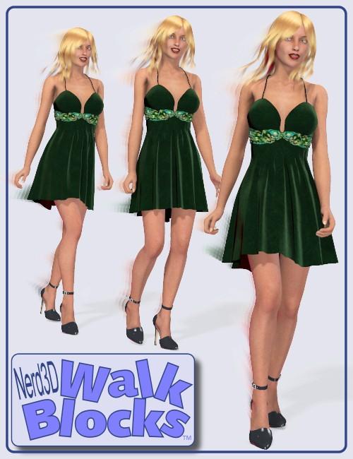 Nerd3D Walk Blocks Fashion Pack