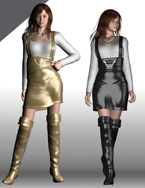 High Waist Line Skirt for V4 & A3