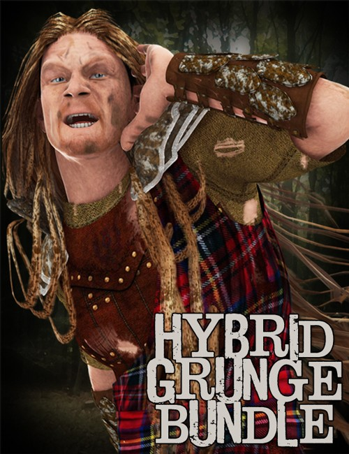 [Update] Hybrid Grunge Bundle for DAZ Studio