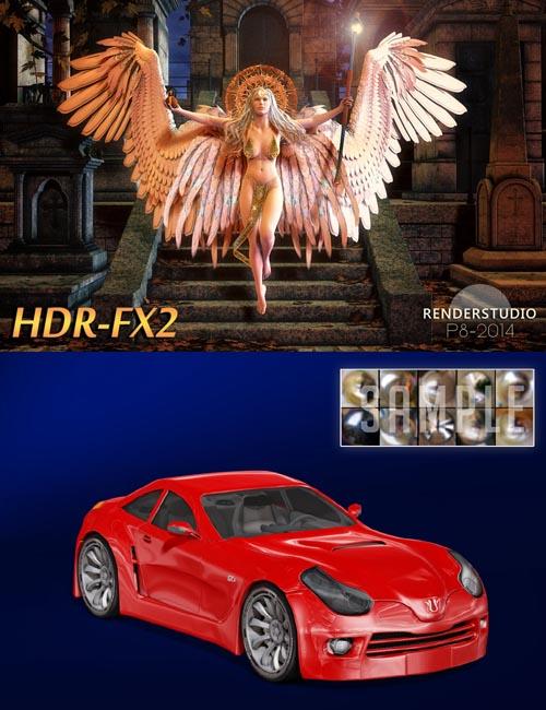 RenderStudio P8-2014 Modular 9 - HDR-Lighting FX 2