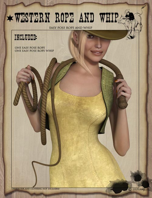Western Rope Whip