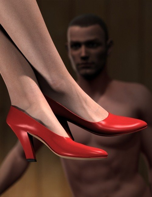 Classic High-Heeled Pumps for Genesis