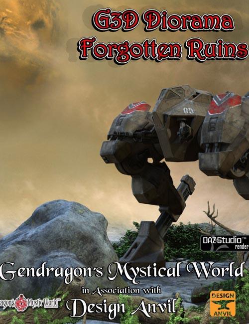 G3D Forgotten Ruins Diorama