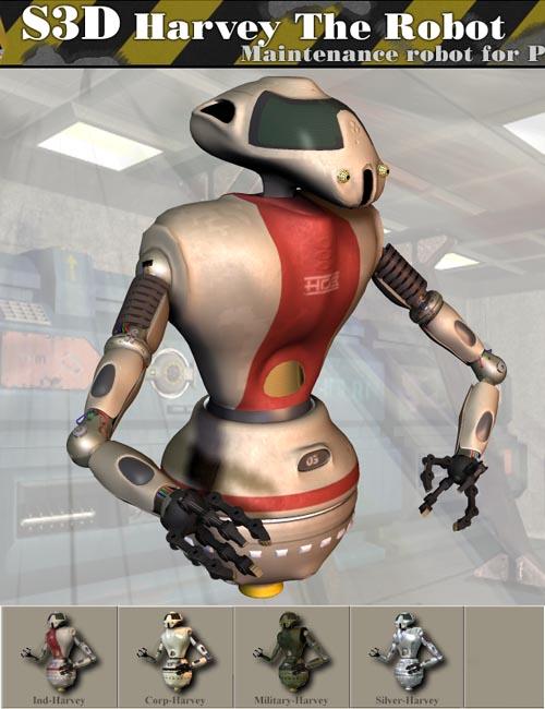 Harvey The Robot
