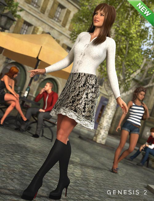 Darcy Outfit for Genesis 2 Female(s)