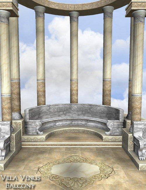 Villa Venus: BALCONY