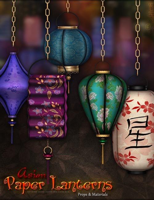 SV's Asian Paper Lanterns