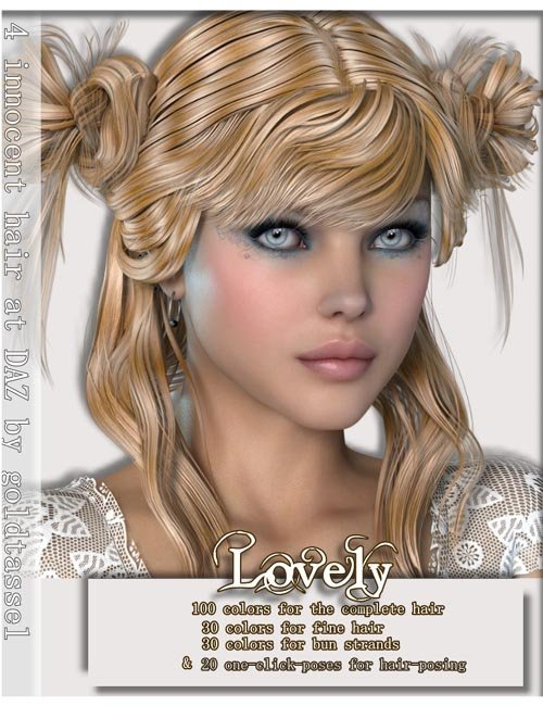 AM: Lovely for INNOCNET-Hair- Textures, Poses and Accessoirstyle