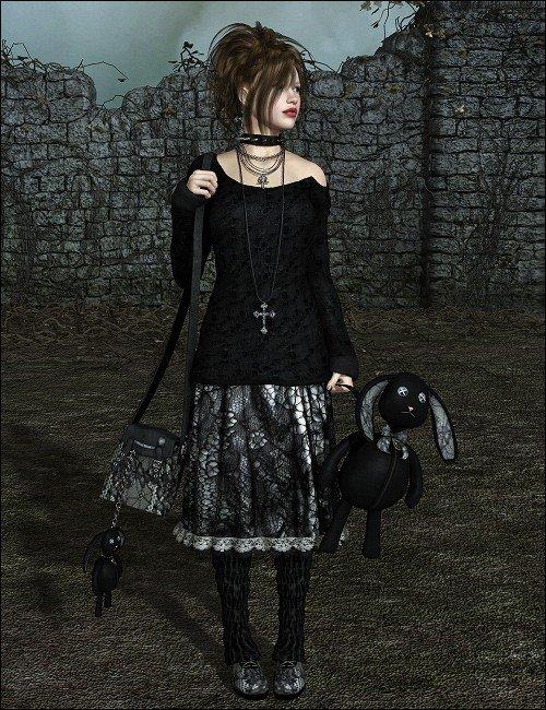 Gothic Bunny Dazed