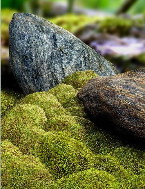 Traveler's Naturals - Moss Clumps Vol 1