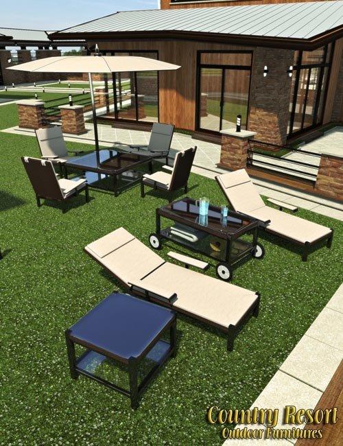 Country Resort - Outdoor Furnitures