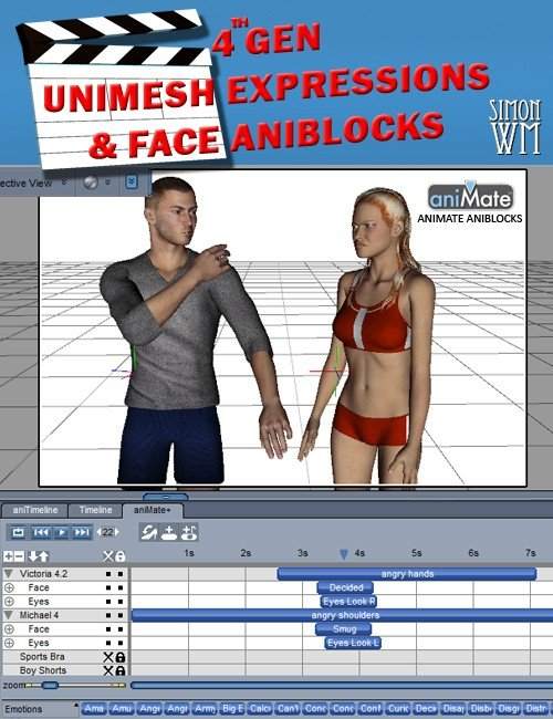 Expression and Face aniBlocks