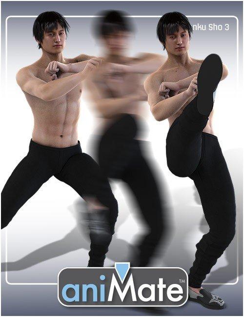 aniMate Martial Arts Combos