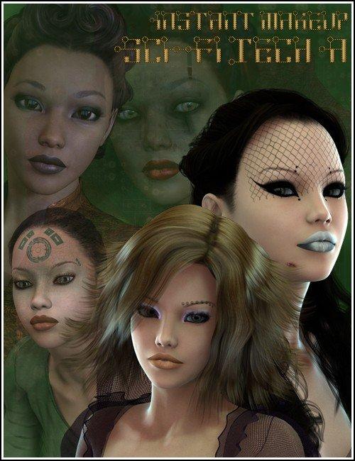 Instant Makeup SciFi Tech A