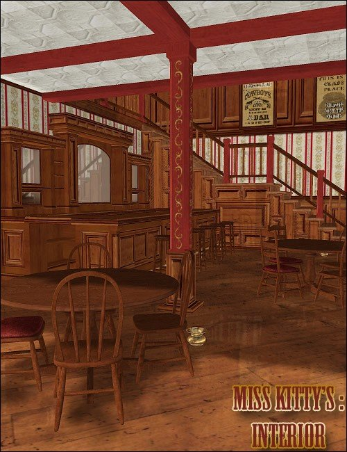 Miss Kitty's: Interior
