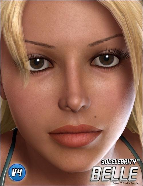 3D Celebrity 'Belle'