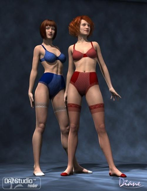 Boudoir Clothing Add-On Textures