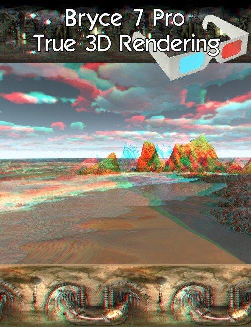 Bryce 7 Pro True 3D Rendering