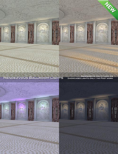 Rendezvous Ballroom Lights