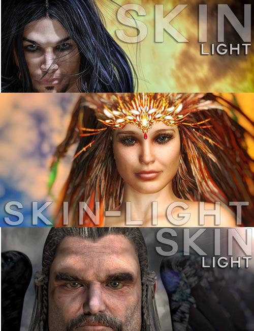 RenderStudio P8-2014 Modular 10 - SKIN LIGHTS