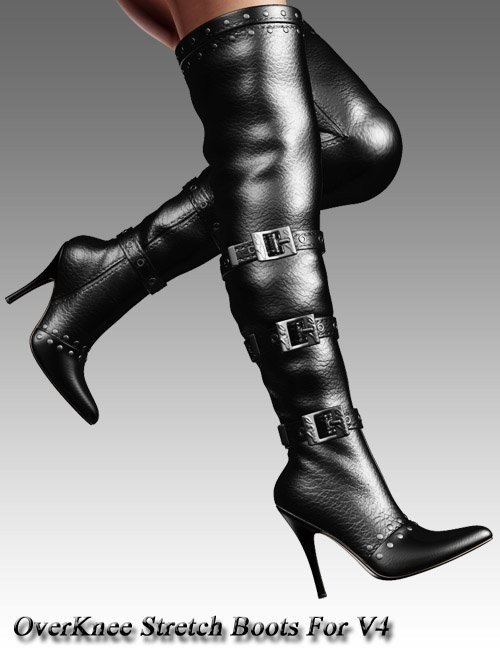 OverKnee Stretch Boots For V4