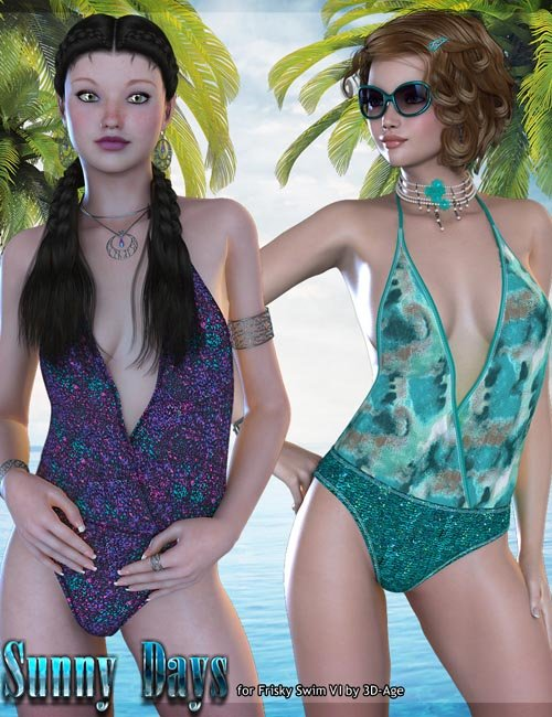 Sunny Days for Frisky Swim VI