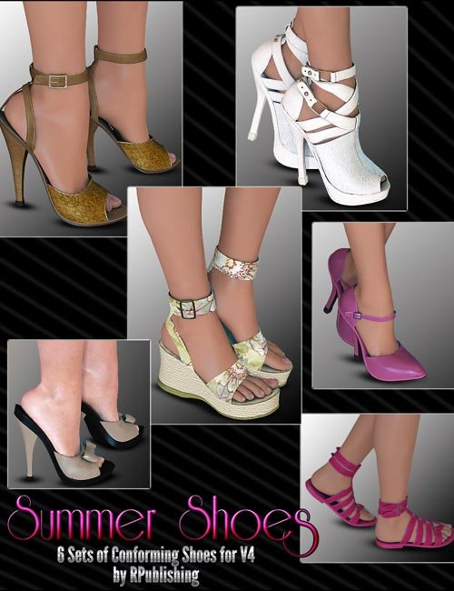 Summer Shoes Pack