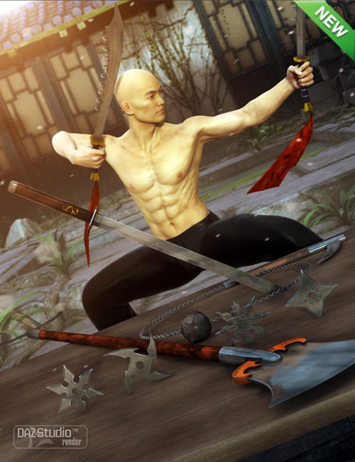 Martial Arts Weapons 2