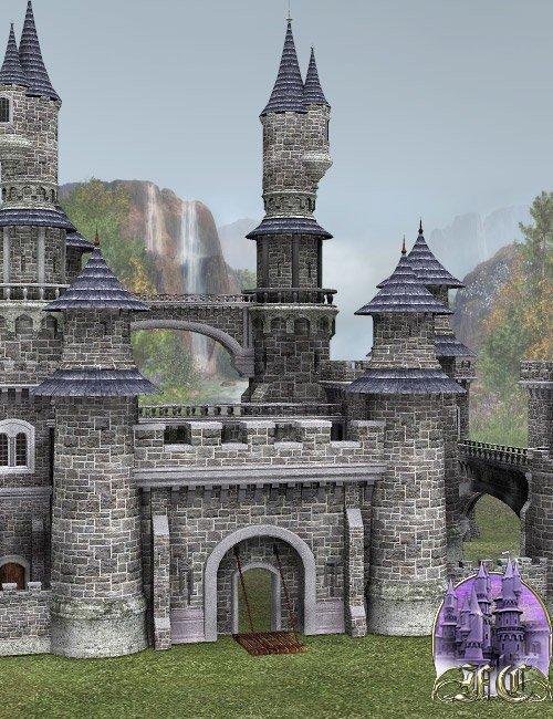Fairytale Collection -- Fantasy Castle