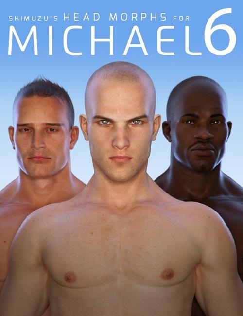 Shimuzu's Head Morphs for Michael 6