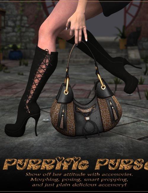 Purrific Purse